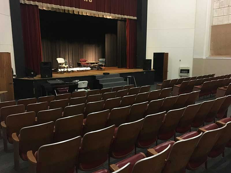 Auditorium Town of West Jefferson Town Hall Rental Space