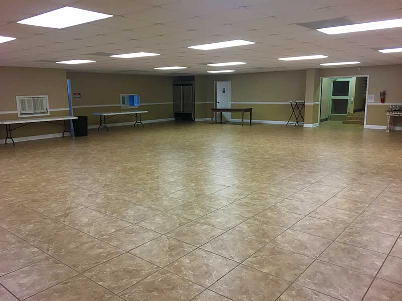 Cafeteria Town of West Jefferson Town Hall Rental Space